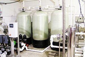 Промышленная система водоочистки