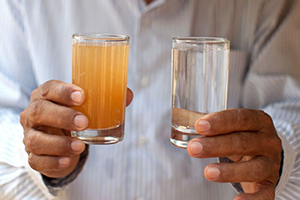 Избавляем воду от неприятного металлического вкуса