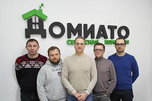 открытие шоу-рума компании ДОМИАТО в ТЦ Можайский двор