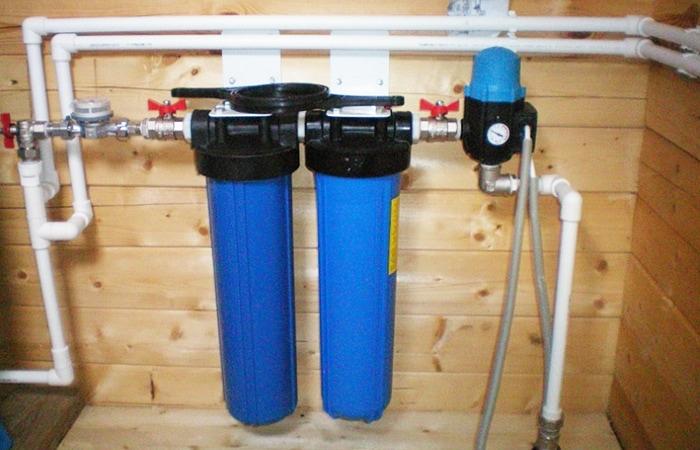 Магистральный фильтр для частного дома