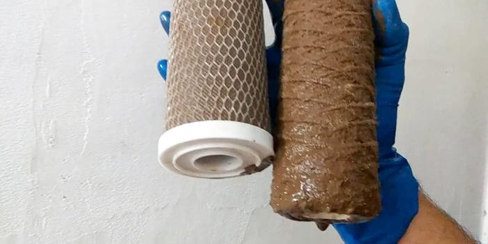 замена картриджа фильтра для воды в Москве