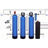 Умягчение и аэрационное обезжелезивание воды