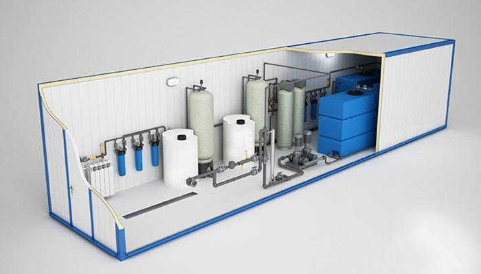 очистка воды в промышленной сфере