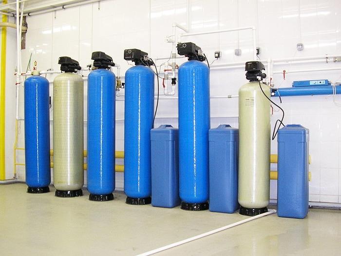установка непрерывного умягчения воды