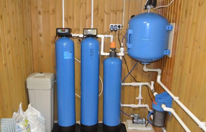 Очистка воды из скважины в частном доме