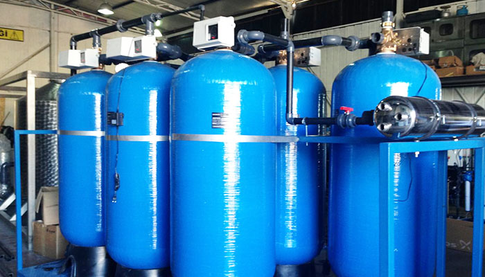 очистка воды для промышленных предприятий
