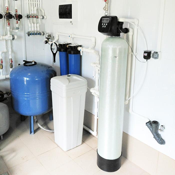 Умягчение воды из скважины
