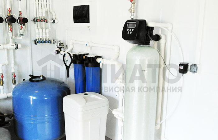 фильтр умягчения воды