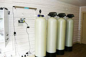 Установка очистки воды от железа